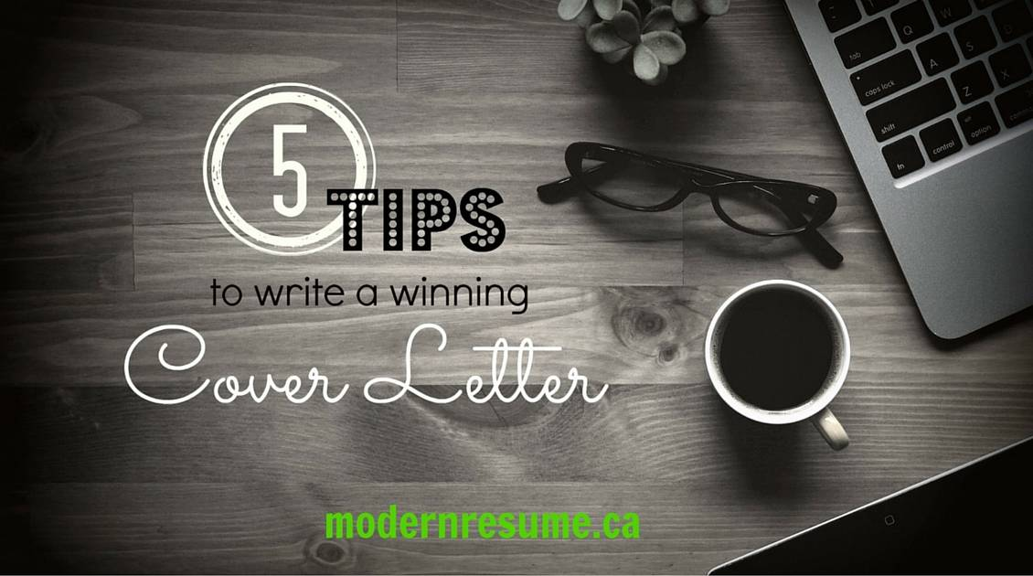 5 tips to write a winning Cover Letter